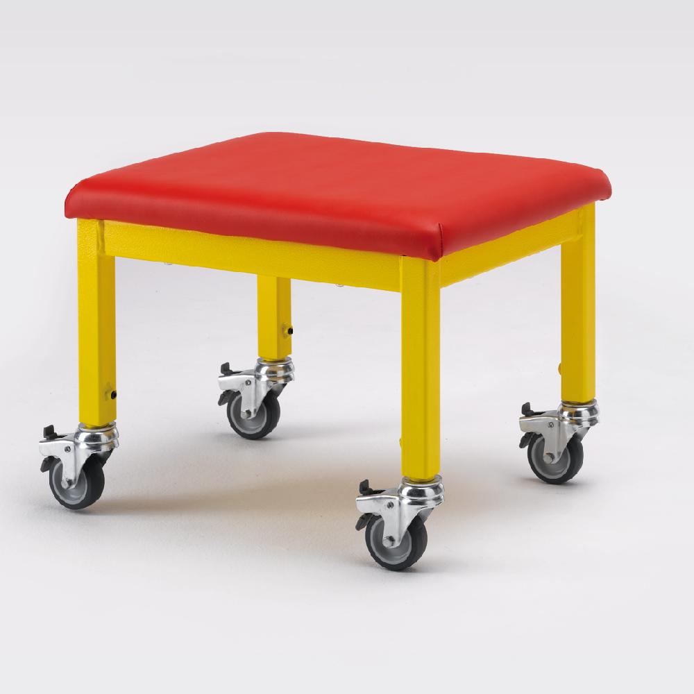 wheely stool 1 - adjustable height wheely stool